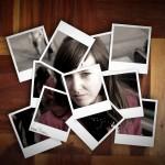 Autorretrato polaroid
