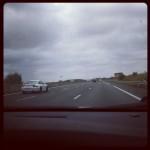 Carretera y cochazo