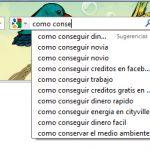 Analizando la sociedad mediante las búsquedas sugeridas de Google