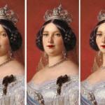 Las reinas de antaño según los cánones de belleza de hoy