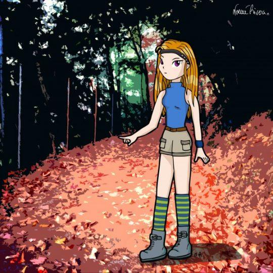 manga girl 1