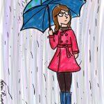 Ser miope y la lluvia