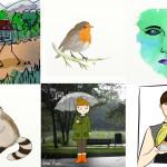Una pequeña colección de ilustraciones de todo tipo