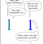 Tipos majos #13. Confusiones de serif