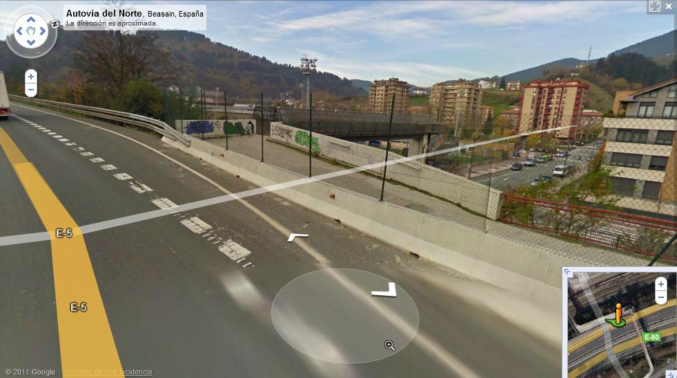 Las carreteras fantasmas de Google Maps