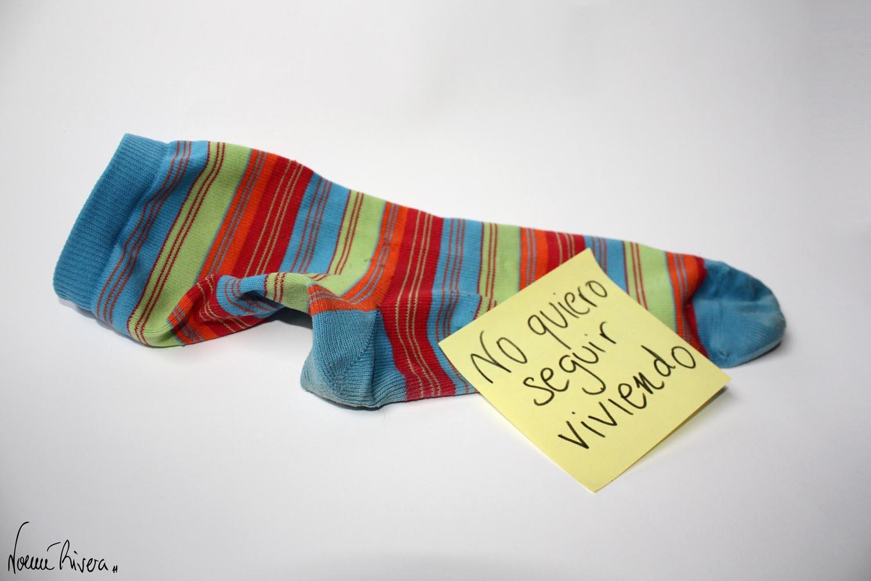 Carta de un calcetín suicida